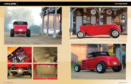 Page four.  Roadster photos by Richard Novak